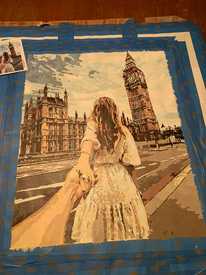 paint your very own photo by numbers